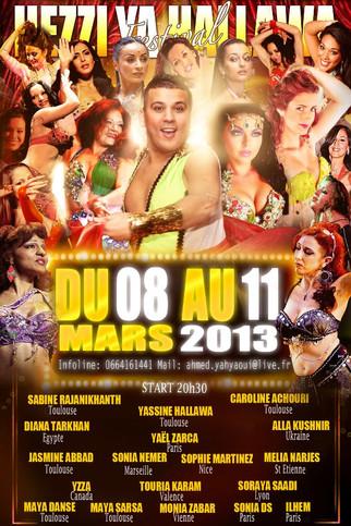 """Festival de danse orientale """"Hezzi ya halawa"""""""