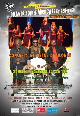 Grande Soirée Musicale et Festive de Solidarité Internationale