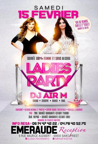 Ladies Party, Soirée 100 % femmes