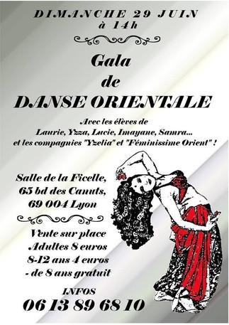 GALA de DANSE ORIENTALE