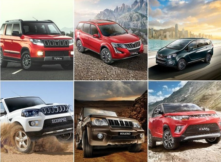 Big Savings on Mahindra SUVs in May 2020. Offers & Discounts Revealed.