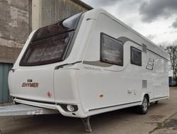 Hymer Caravan wax protection