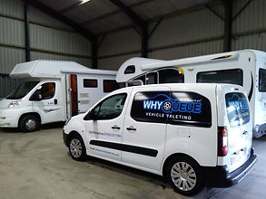 Why Queue Vehicle Valeting offer professional mobile valeting for your caravan or motorhome