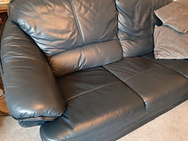 Leather sofa clean