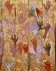Hand Garden / Doctors Wall, Part II (detail of hands)
