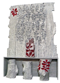 Leaf Altar for Anunzia 1913-2004