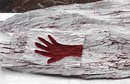 Reclining Hand (detail)