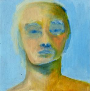 Self Portrait with Blue Sky