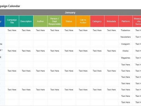 What's A Marketing Calendar and How Will It Help?