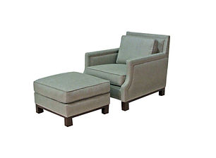 9890 Chair and Ottoman