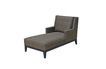 9820 Chaise with Arms