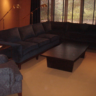 Custom Sectional & Chair