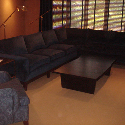 Custom Sectional & Chair