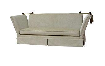 MA Knole Sofa (w Kickpleat)