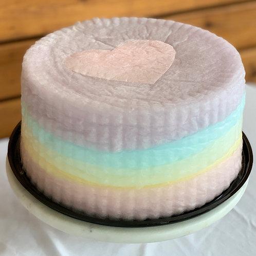 Choose LOVE Valentine's Heart Cake