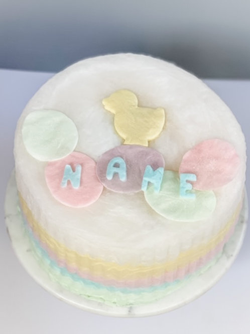 Personalized Easter Cake