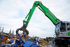 Insamling av bygg- och industriavfall