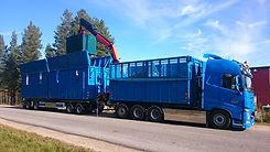 Insamling återvinningsmaterial från företag
