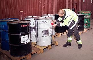 Märkning av farligt avfall