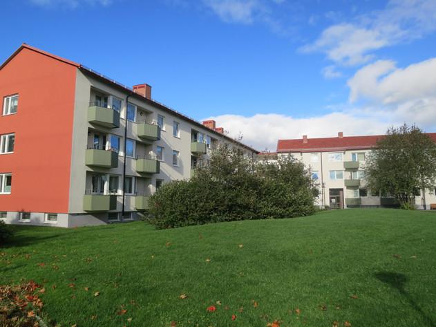 Nya fasader och balkonger
