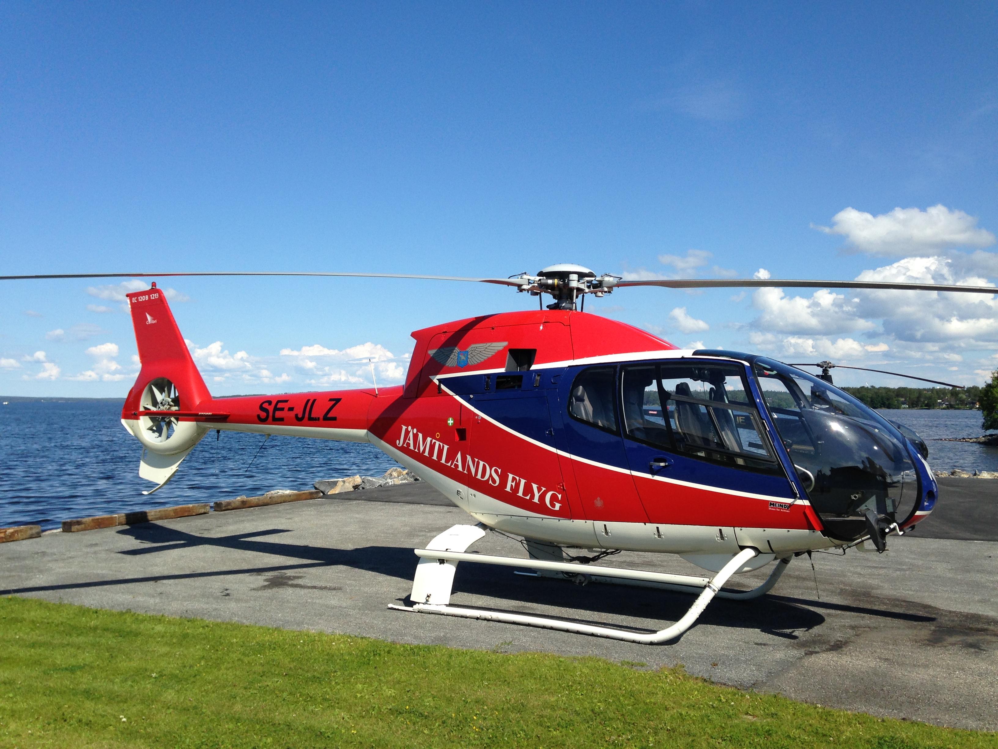 Helikopter Jämtlandsflyg