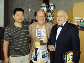 Reunião com Emanuel von Lauenstein Massarani e Alvaro de Moya