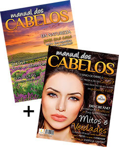 Manual dos Cabelos - Volume I e II - kit com dois volumes