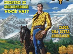 """Nova recomendação de """"O Mocinho do Brasil"""" na revista Tex"""
