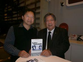 """Fotos do lançamento do livro """"Pratica e Efetividade na Gestão de Conflitos"""""""