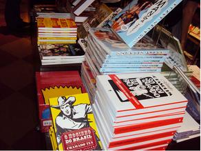 O Mocinho do Brasil faz sucesso na Livraria Cultura