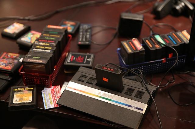 Console e Jogos Atari