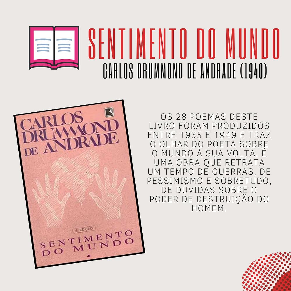 Sentimento do Mundo - Carlos Drummond de Andrade (1940)