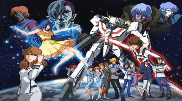 Guerra das Galáxias - Robotech 1985