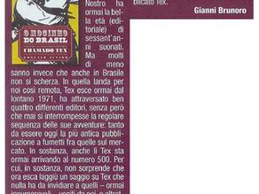 """""""O Mocinho do Brasil"""" em publicação italiana"""