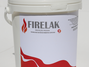 Solicitação do Laudo das Tintas de Proteção Passiva Firelak