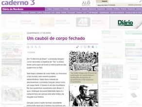 """""""O Mocinho do Brasil"""" no jornal Diário do Nordeste"""