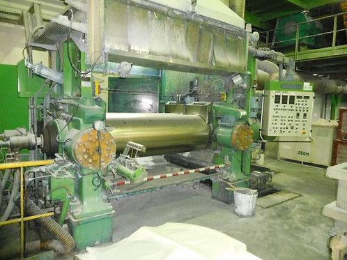 Mélangeur, Mixing mill, Mezcladora TROESTER 1800mm rubber caucho caoutchouc