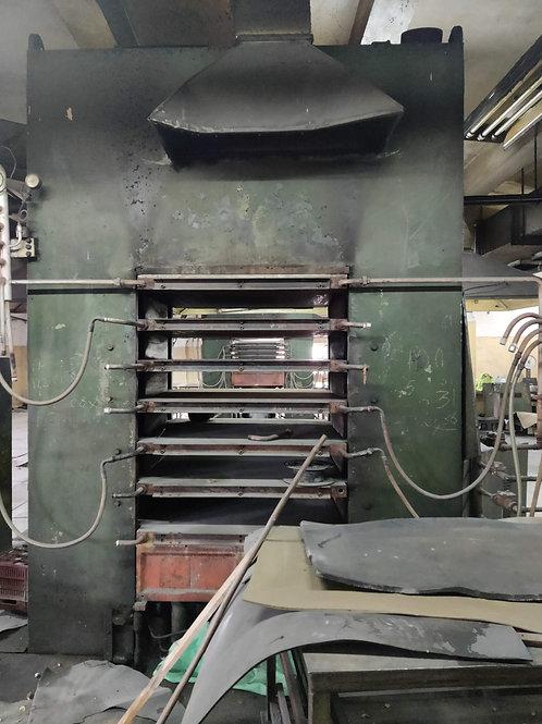 Prensa Terenzio de compresión 1200 Toneladas