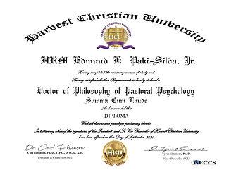 HRM King Edmund Doctorate in  Psychology