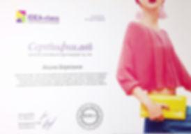 """сертификат стилиста имиджмейкера курс """"Система разработки и воплощения персонального имиджа"""" 4 марта 2016 года"""