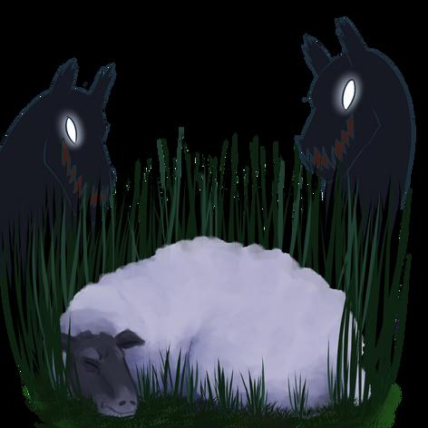 Sheep Spot Art
