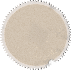 Badge recyclé Cercle