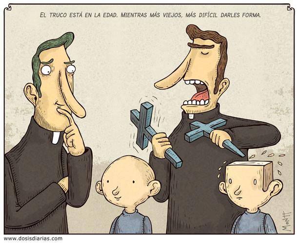 Caricatura de Alberto Montt