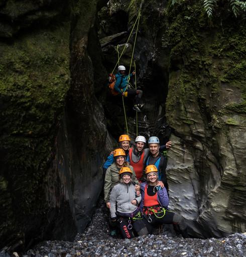 Canyoning Aotearoa Dry Chasm 210605-154.