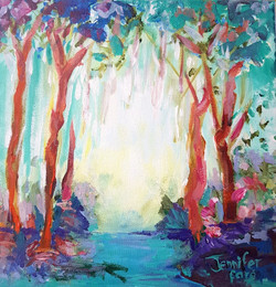 Magical forest - SOLD