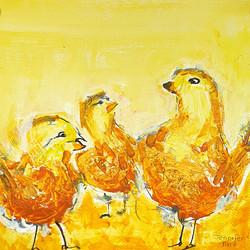 Golden Chickens