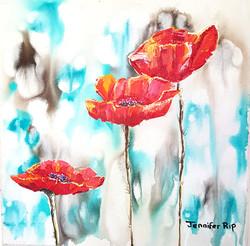Poppies at Secunda - SOLD