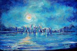 Romantic moon - SOLD
