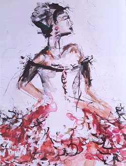 Spanish dancer - SOLD