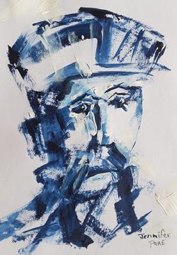 Blue king - SOLD